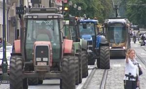 betoging boeren